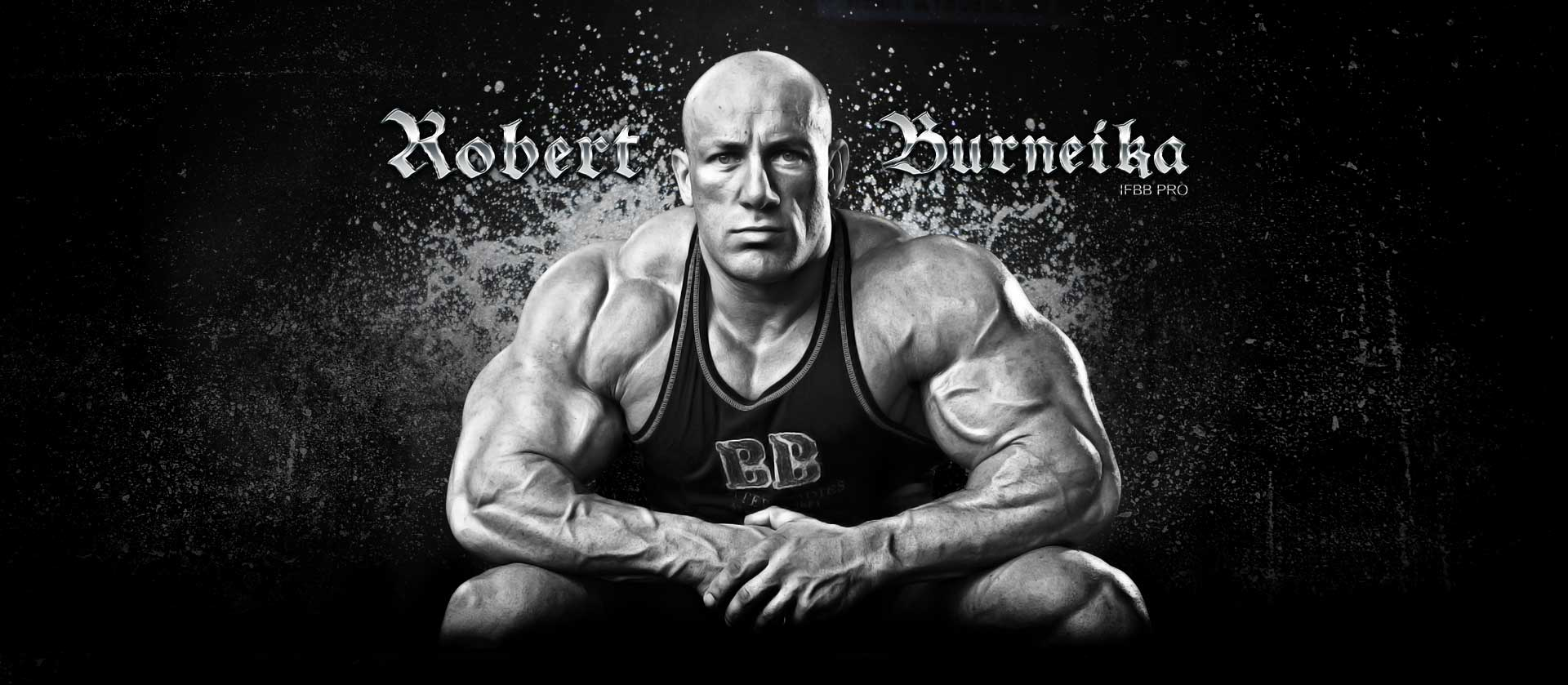 Bodybuilder Robert Burneika